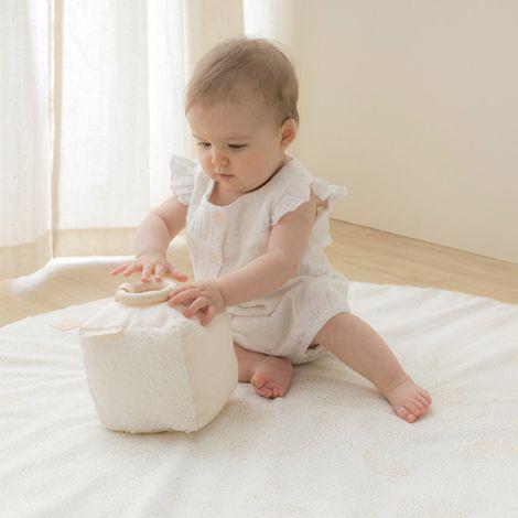 Nobodinoz Babyspielzeug Sensorischer Würfel