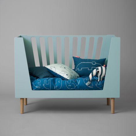 Done by Deer Bettbezug-Junior Sleepy Blue 100 x 135
