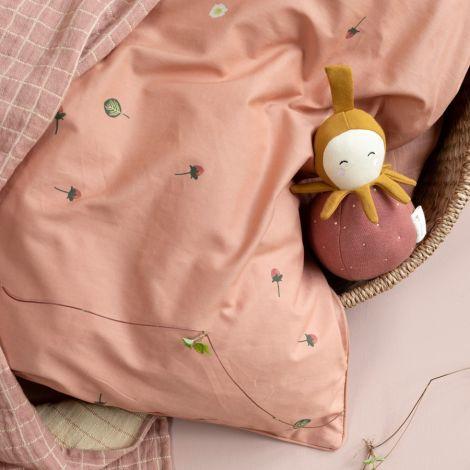 Fabelab Baby-Spielzeug Tumbler Strawberry Bio-Baumwolle