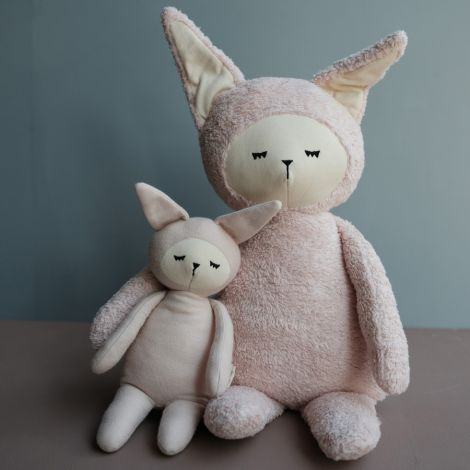 Fabelab Kuscheltier Big Buddy Bunny Bio-Baumwolle