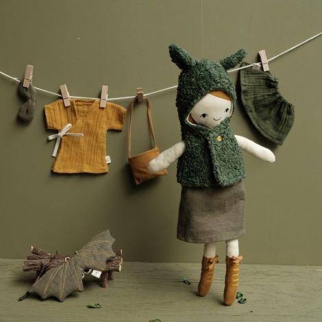 Fabelab Puppenkleidung Dragon Cape Bio-Baumwolle