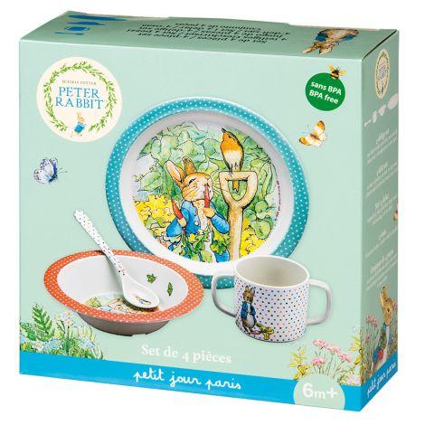 Petit Jour Paris Geschenkbox 4-teilig Peter Hase