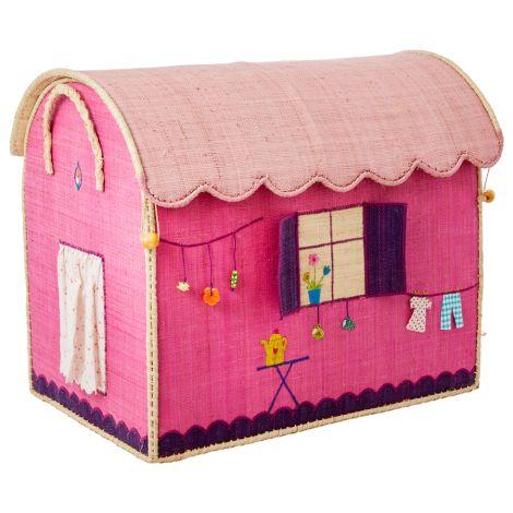 Rice Spielzeugkorb Caravan