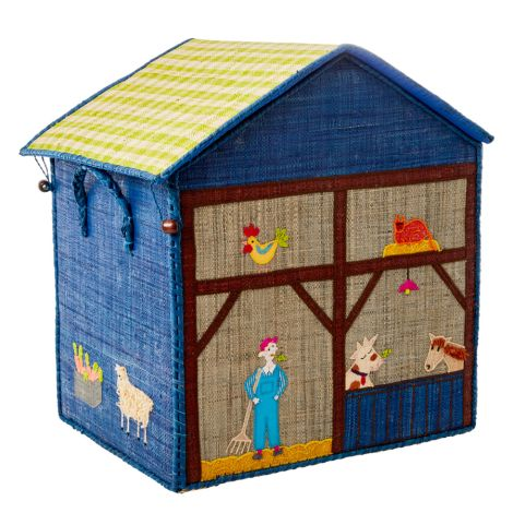 Rice Spielzeugkorb Farm