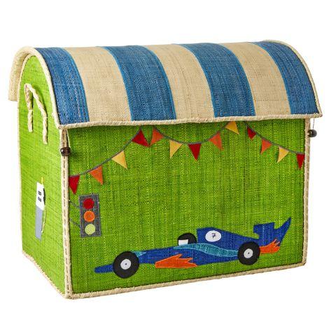 Rice Spielzeugkorb Race Car L