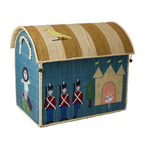 Rice Spielzeugkorb Spielhaus The Steadfast Tin Soldier L