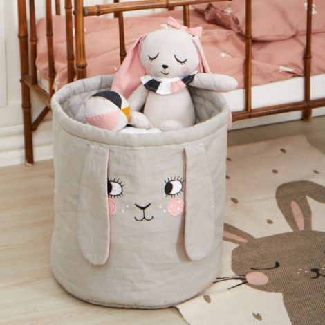 Roommate Korb Bunny Bio-Baumwolle