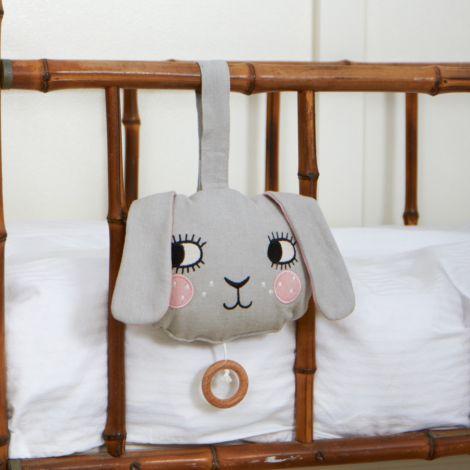 Roommate Spieluhr Bunny Bio-Baumwolle