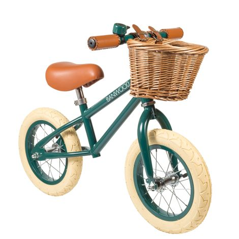 Banwood Laufrad Balance Bike 'First Go' Darkgreen