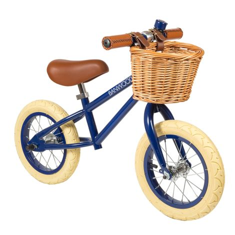 Banwood Laufrad Balance Bike 'First Go' Navy Blue