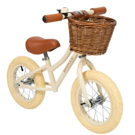 Banwood Laufrad Balance Bike First Go Cream •