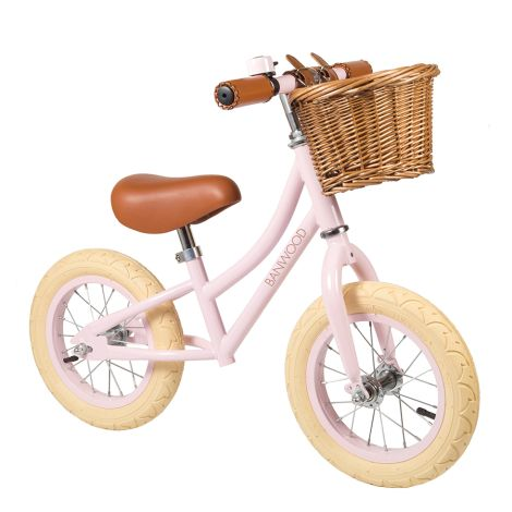 Banwood Laufrad Balance Bike 'First Go' Pink