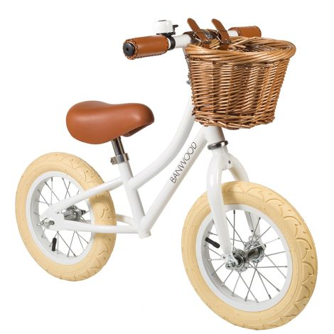 Banwood Laufrad Balance Bike 'First Go' White