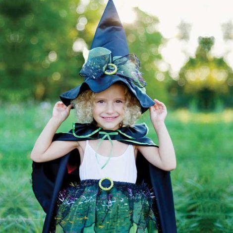 Kostüm-Set Hexe Wicked Witch 4-6 Jahre
