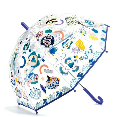 Djeco Regenschirm Fische inkl. Farbwechsel