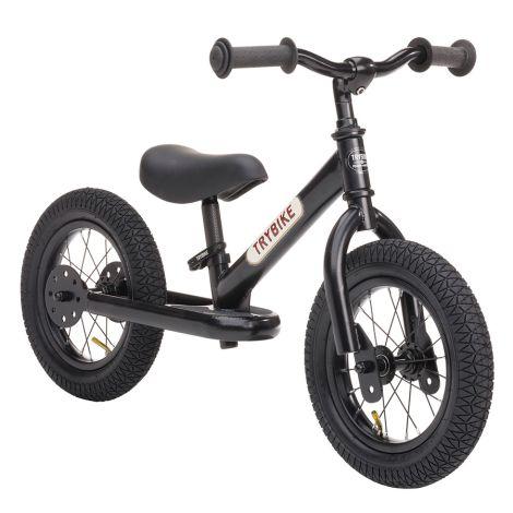 Trybike Laufrad Steel All Black Edition