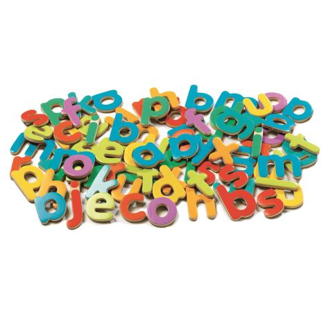 Djeco Magnetspiel 83 kleine Buchstaben