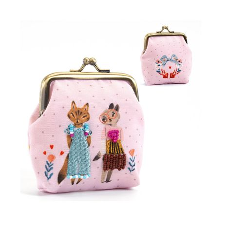 Djeco Portemonnaie Lovely purses Cats