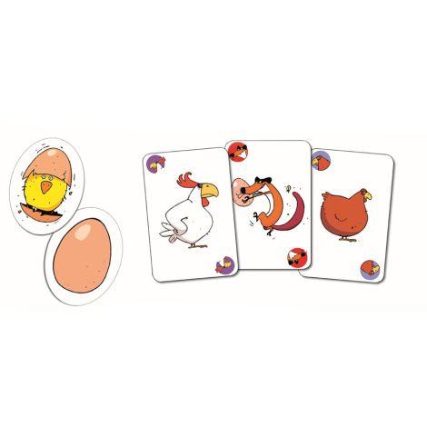 Djeco Kartenspiel Piou Piou