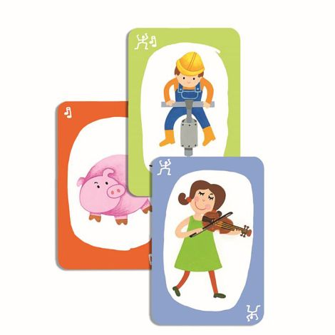 Djeco Kartenspiel Pouet! Pouet!