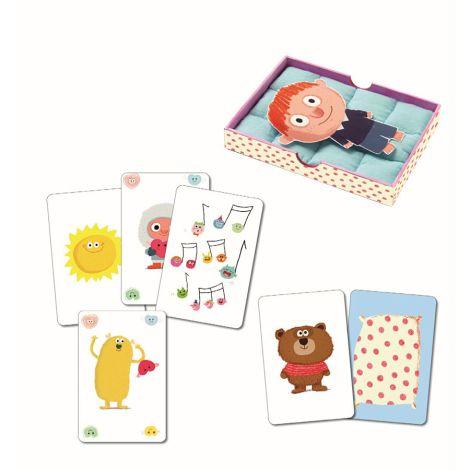 Djeco Kartenspiel Bisous Dodo