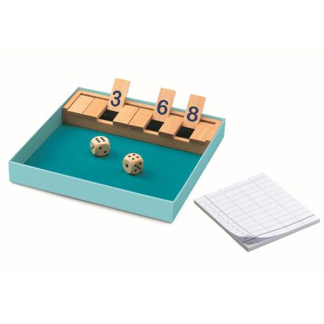 Djeco Spieleklassiker Shut the box