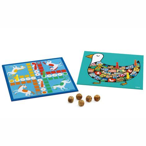 Djeco Klassik Spiele Box 4+