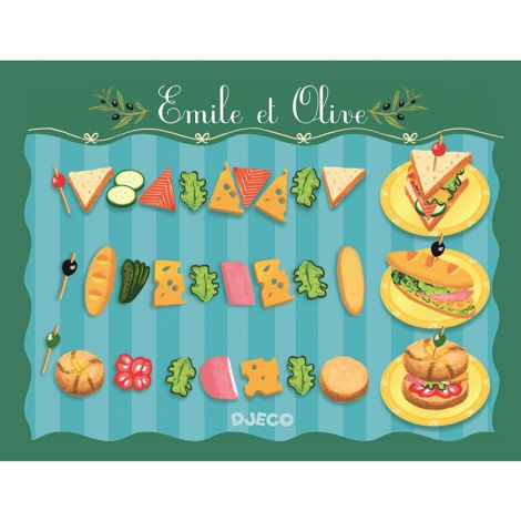 Djeco Kaufladen Emile & Olive