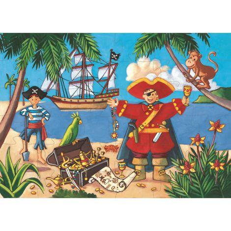 Djeco Puzzle Piratenschatz