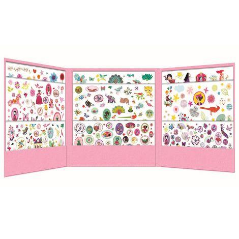 Djeco 1000 Sticker Sammlung Mädchen