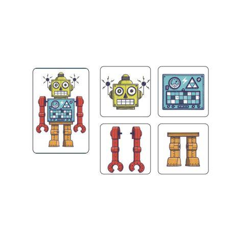 Djeco Kartenspiele Robots