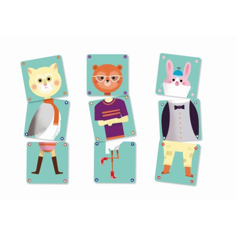 Djeco Kartenspiele Animomix