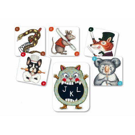 Djeco Kartenspiele ABC Miam