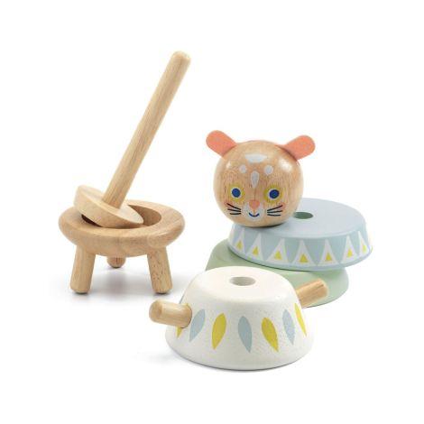 Djeco Babyspielzeug Baby White BabySouri