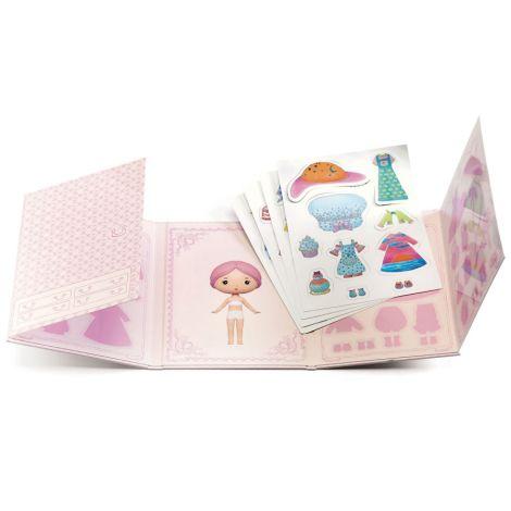 Djeco Tinyly Miss Lilypink - Sticker