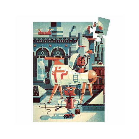 Djeco Formen Puzzle Bob der Roboter 36 Teile