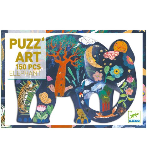 Djeco Puzz'Art Elefant - 150 Teile