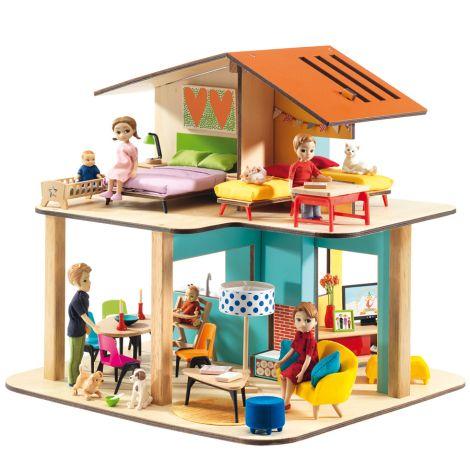 Djeco Puppenhaus: Modern house