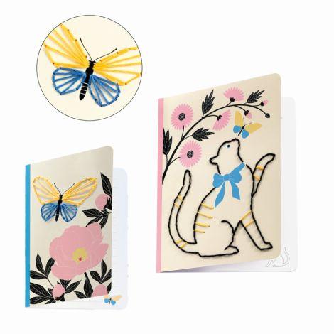 Djeco Do it yourself Notizbücher zum Dekorieren Poetic Garden