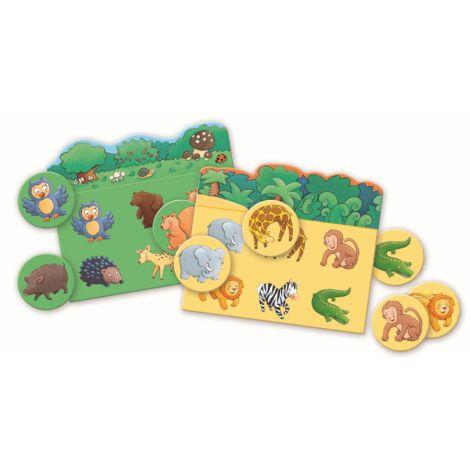 Djeco Lernspiel Tier Lotto