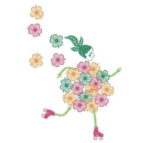 Djeco Stempel Flower girls