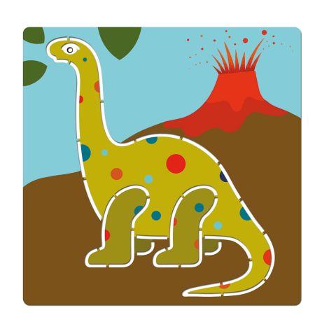 Djeco Schablonen: Dinosaurs