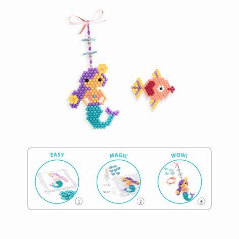 Djeco Perlen Artistic Aqua Sea Charm