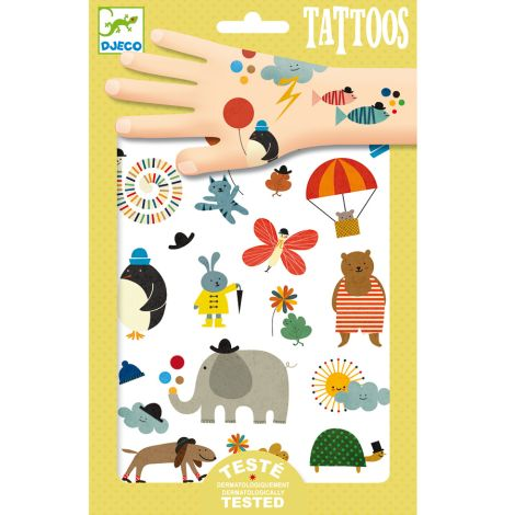 Djeco Tattoos: Pretty little things