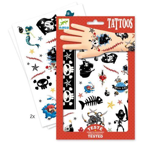 Djeco Tattoos: Pirates