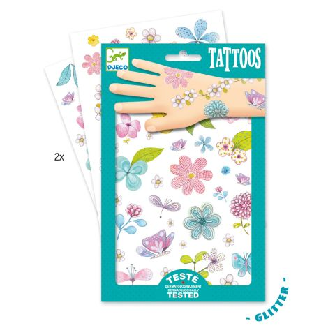 Djeco Tattoos: Fair flowers of the field