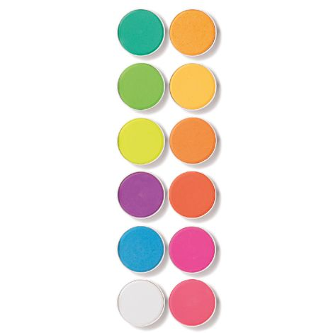 Djeco Wasserfarben Neon 12er-Set