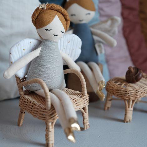Fabelab Puppe Tooth Fairy mit Beutel für Milchzähne Bio-Baumwolle