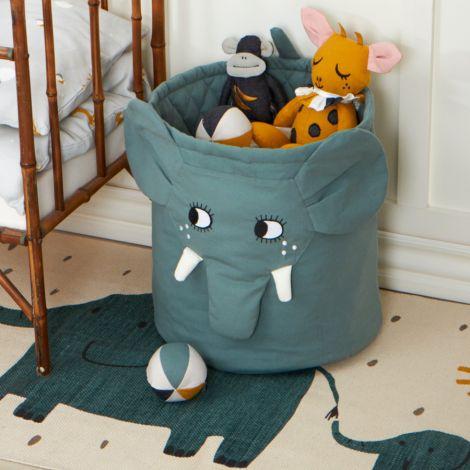 Roommate Korb Elephant Bio-Baumwolle