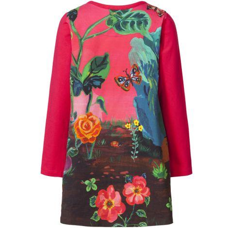 Room Seven Jersey-Kleid Toulas Lapin Pink